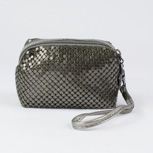 Handbags - Gunmetal Metallic Wristlet